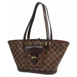 Louis Vuitton-ManosquePM Sac cabas pour femmes N51121 Damier Ebene-Autre
