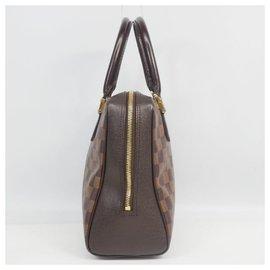 Louis Vuitton-Sac à main Brera Femme N51150 Damier Ebene-Autre