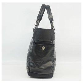 Chanel-Paris Biarritz toteGM Womens tote bag A34210 black x silver hardware-Other