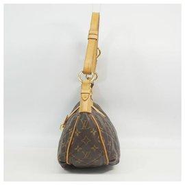 Louis Vuitton-Sac à bandoulière City bagPM Femme M97037 marron-Marron