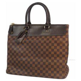Louis Vuitton-GreenwichPM unisex Boston bag N41165 damier ebene-Other