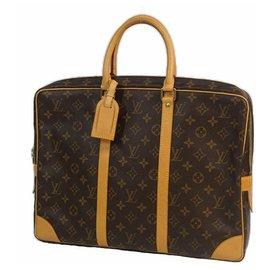 Louis Vuitton-poruto Documents Voyageur Mens business bag M53361-Other