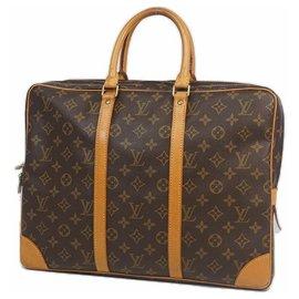 Louis Vuitton-poruto Documents Voyageur Sac d'affaires pour hommes M53361-Autre
