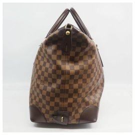 Louis Vuitton-Sac Boston Vaslav Femme N41537 Damier Ebene-Autre