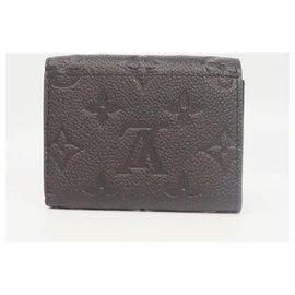 Louis Vuitton-Portofeuilles Victorine Womens long portefeuille M64060 Noir-Autre