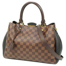 Louis Vuitton-Sac à main femme Britanny N41673 Damier niveau x noir-Autre