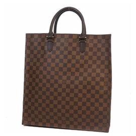 Louis Vuitton-sac Plat Sac à main femme N51140 Damier Ebene-Autre