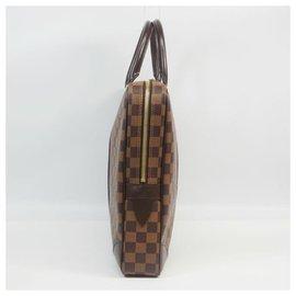 Louis Vuitton-poruto Documents Voyageur Sac d'affaires pour hommes N41124 Damier Ebene-Autre