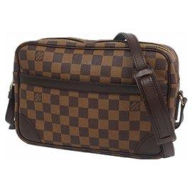 Louis Vuitton-Sac bandoulière unisexe Trocadero SPO N48085 Damier Ebene-Autre