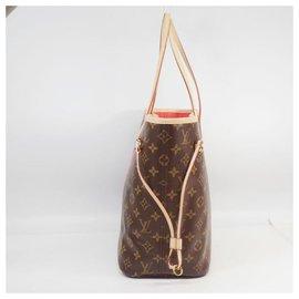 Louis Vuitton-LOUIS VUITTON V motif Neverfull MM Womens tote bag M41602 Grenard-Other