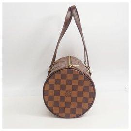 Louis Vuitton-Louis Vuitton Papillon 30 GM w pouch Womens Boston bag N51303 Damier Ebene-Autre