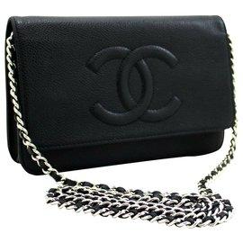 Chanel-Sac à main Chanel-Noir