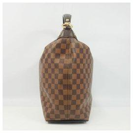 Louis Vuitton-Sac porté épaule Duomo Hobo Femme N41861 Damier Ebene-Autre