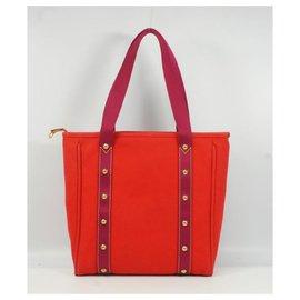 Louis Vuitton-CabasMM cabas M40034 Rouge-Autre