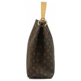 Louis Vuitton-GracefulMM Sac à bandoulière pour femmes M43704 Couleur Beige-Beige