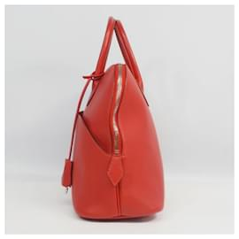 Hermès-Boledo1923 Womens handbag red x silver hardware-Other