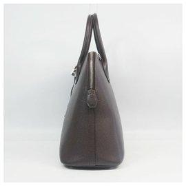 Hermès-Boledo37 Womens handbag dark brown-Brown