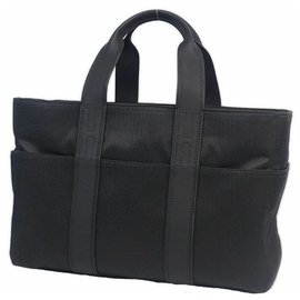 Hermès-AcapulcoMM Womens tote bag black-Black