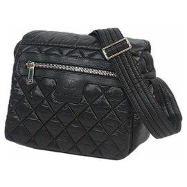 Chanel-Sac porté épaule COCocoon Femme A48616 matériel noir x argent-Autre