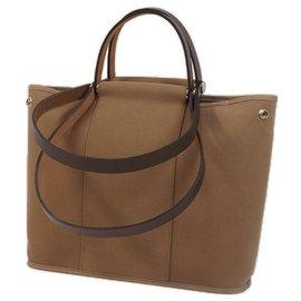 Hermès-CabagPM shoulder bag Etoupe-Other