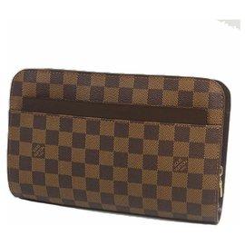 Louis Vuitton-Saint Louis Second sac homme N51993 Damier Ebene-Autre