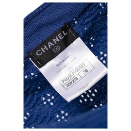 Chanel-Paris - Dubai blue dress-Blue