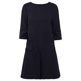Azzaro-cute silk romper jumpsuit-Other