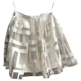 Céline-Skirts-Cream
