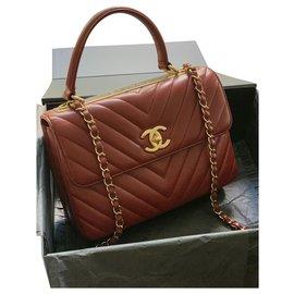 Chanel-Trendy CC Chevron-Rouge