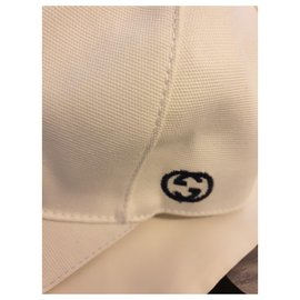 Gucci-Hats Beanies-White