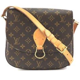 Louis Vuitton-Louis Vuitton Saint Cloud GM Monogram Canvas-Brown