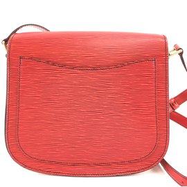 Louis Vuitton-Louis Vuitton Saint Cloud Fawn Epi Leather-Other