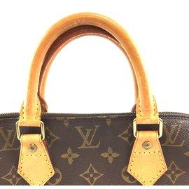 Louis Vuitton-Louis Vuitton Alma Monogram Canvas-Brown