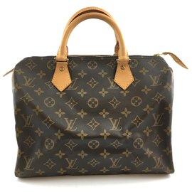 Louis Vuitton-Louis Vuitton Speedy 30 Monogram canvas-Brown