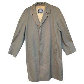 Burberry-Burberry t raincoat 46 vintage sixties-Khaki
