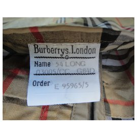 Burberry-raincoat man Burberry vintage t 54 with removable wool lining-Khaki