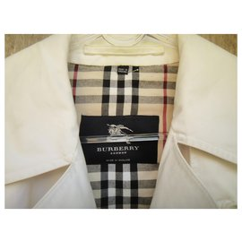 Burberry-raincoat Burberry London t 38-White