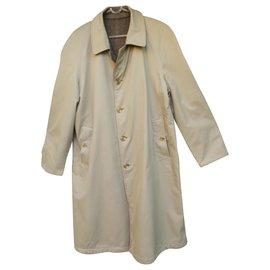Burberry-coat / reversible raincoat man Burberry vintage t 50-Brown