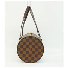 Louis Vuitton-Louis Vuitton Papillon 30 Sac Boston GM pour femmes N51303 Damier Ebene-Damier ebène
