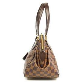 Louis Vuitton-LOUIS VUITTON Verona PM Womens shoulder bag N41117 damier ebene-Damier ebene