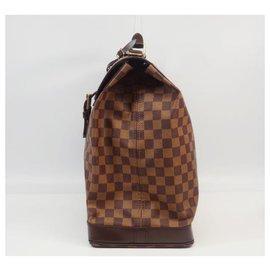 Louis Vuitton-LOUIS VUITTON Sac de taille unisexe PM PM N41130 Damier Ebene-Damier ebène