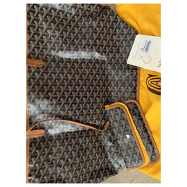 Goyard-Goyard Anjou GM bag-Light brown
