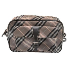 Burberry-Burberry clutch bag-Brown