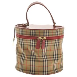 Burberry-Burberry clutch bag-Red