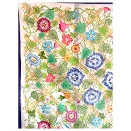 Gucci-Vintage 1966 cotton fouard-Multiple colors