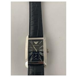 Emporio Armani-Armani watch-Black