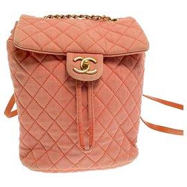 Chanel-Chanel backpack-Orange