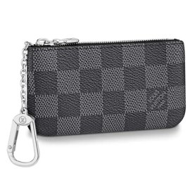 Louis Vuitton-Key pocket-Black,Dark grey