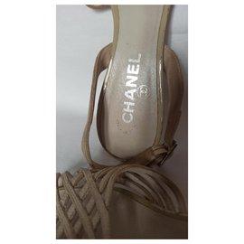 Chanel-Sandals-Beige