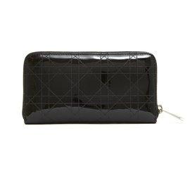 Christian Dior-lady dior patent black-Black